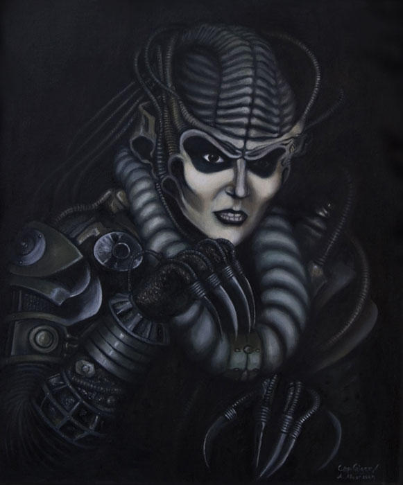 HR Giger's Spider Queen by Morphera