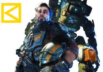 Titanfall2 Rifleman Jack Cooper and BT7274 Render by KAOZTAINMENT