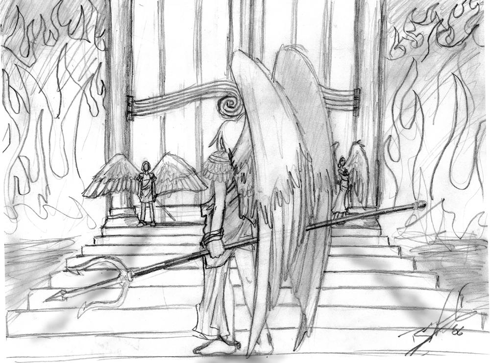 Heaven Gates Drawing Heaven 39 s Gate by Naotaro