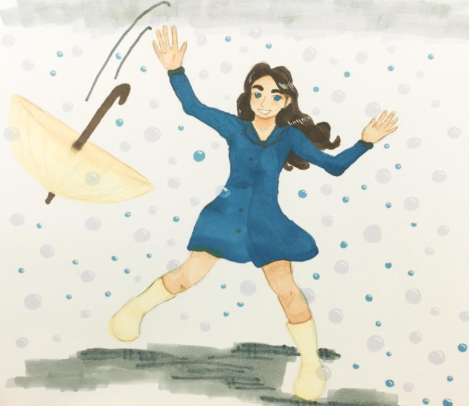 Unexpected bubble rain ver. 1 by Ahnzri