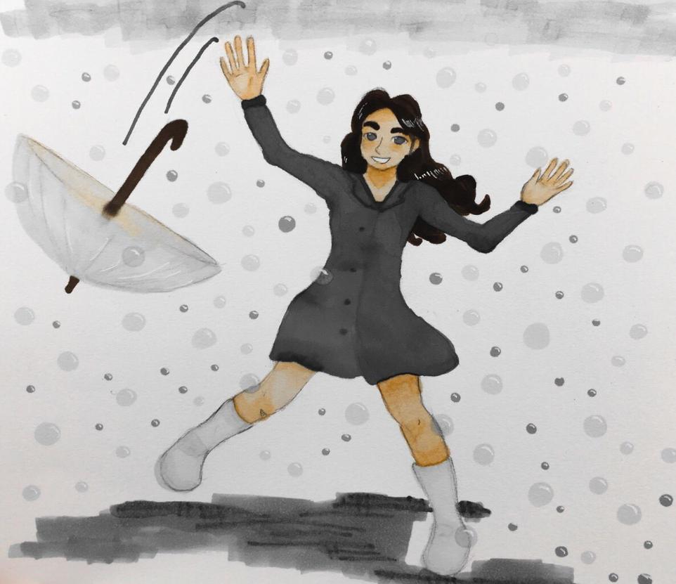 Unexpected bubble rain ver. 2 by Ahnzri