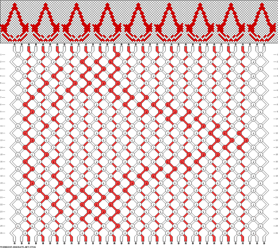 Assassin Bracelet Pattern by Cherry-Chain