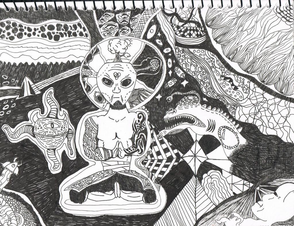 Secret of the universe. by Zane-Thornton