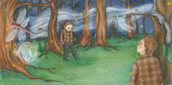 Walk in the park by cyborgbeetle