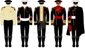 Sci-Fi: UEN Officers' Uniforms