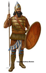 Assyrian Spearman by JohnnyShumate