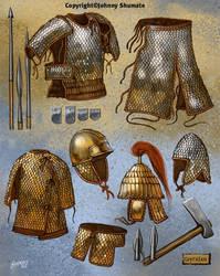 Scythian Armor by JohnnyShumate