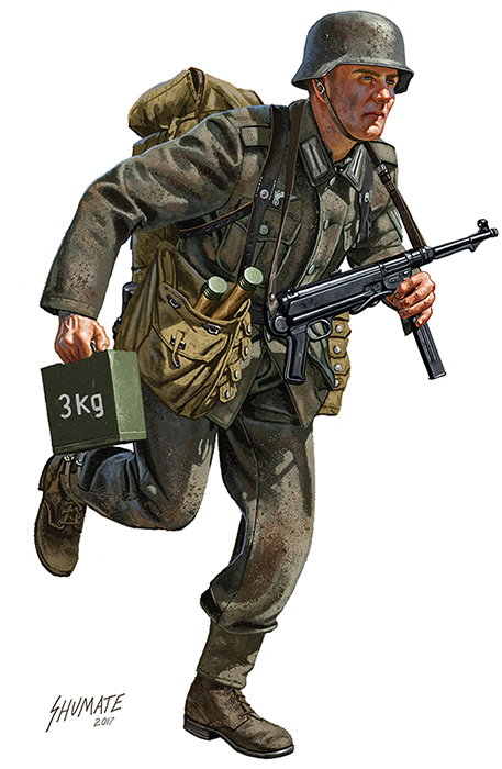 Wehrmacht Pioneer, Stalingrad by JohnnyShumate