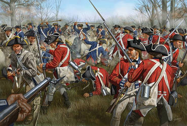 Battle of Cowpens by JohnnyShumate
