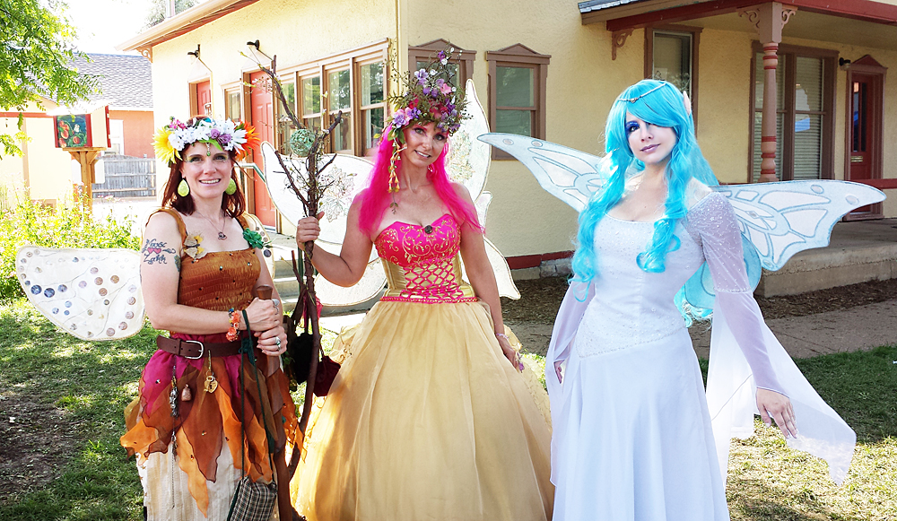 Faerie Trio by HeatherCosplay