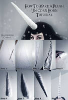How To Make A Plush Unicorn Horn by HeatherAfterCosplay