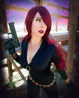 Action Shot by HeatherAfterCosplay