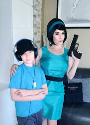 BLU Scout and Mom