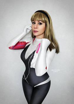 Spider-Gwen for Superhero Day