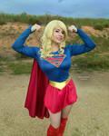 Supergirl Gun Show by HeatherAfterCosplay