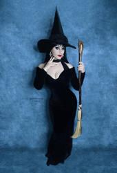 Full Length Witchy Elvira