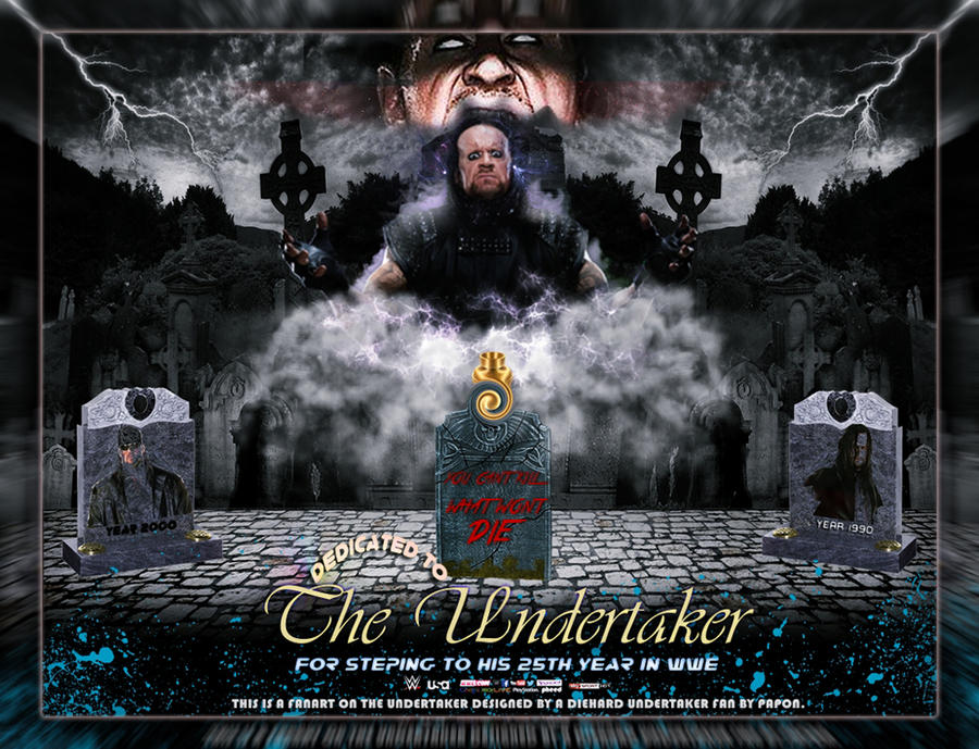 THE Undertaker WALLPAPER By KingPapon