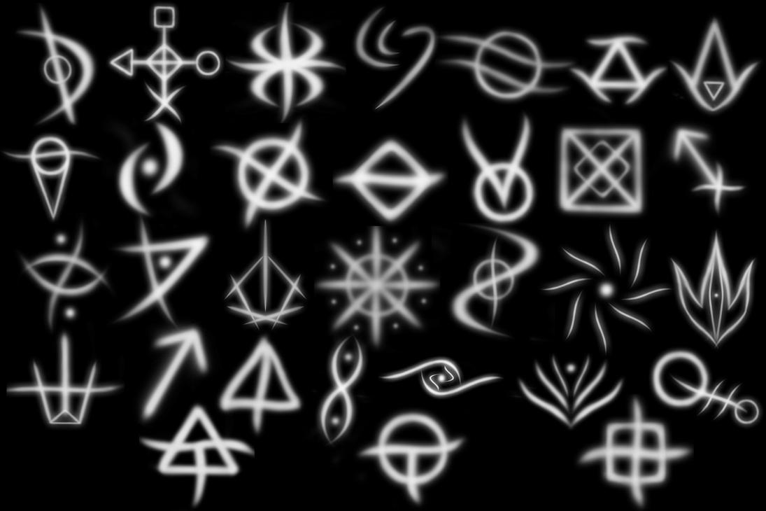 Symbolism Of The Runes By Quill Tail On Deviantart