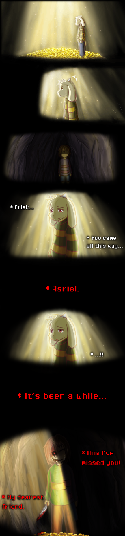 Your Friend (Undertale Spoiler-ish) by Quill-Tail