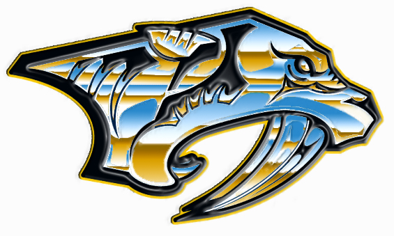 My Chromed Predators Logo by ThinkTanker on DeviantArt