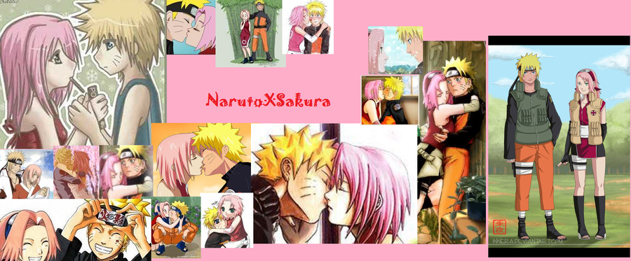 NaruSaku Wallpaper by tsunade-chan50