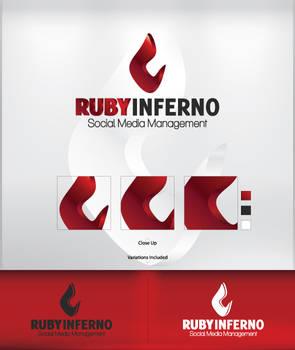 Ruby Inferno - Logo