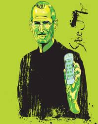 Steve Jobs by GaryStearly