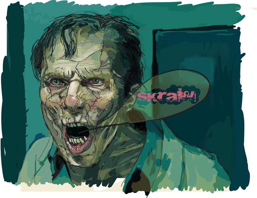 WWZ zombie vector by GaryStearly