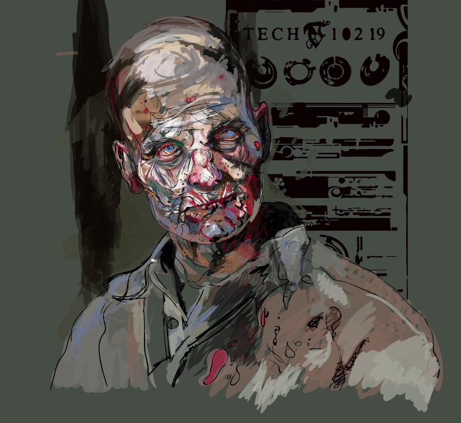 Wwz-lab-zombie by GaryStearly