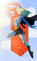 Supergirl by Randy Green