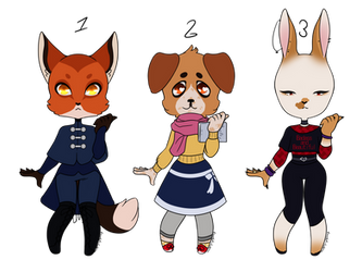 [OPEN] Furry Adopts 2/3