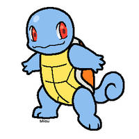 Squirtle by Shioulion