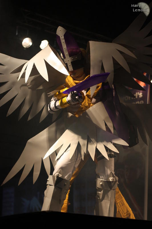 Holy or Magna angemon costume by sedra60 on DeviantArt