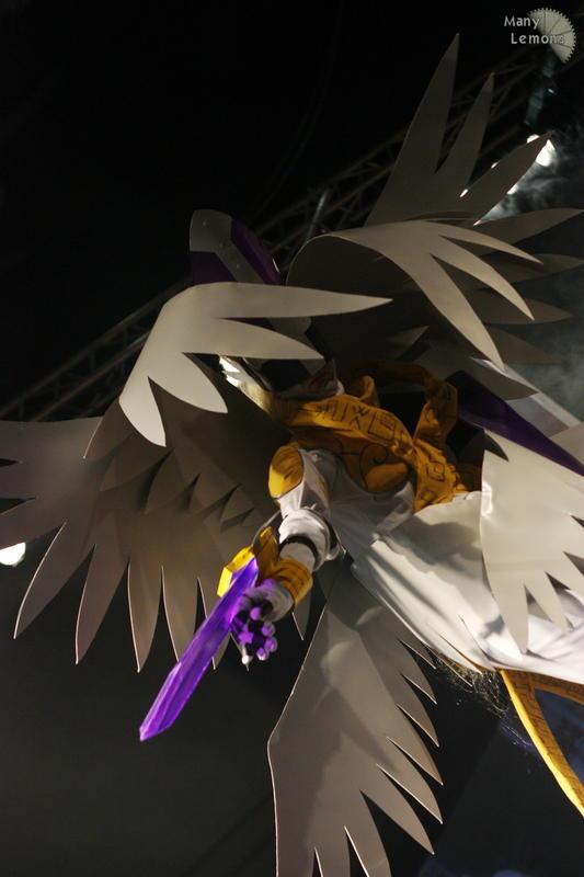 Magna Angemon costume at ECC by sedra60 on DeviantArt