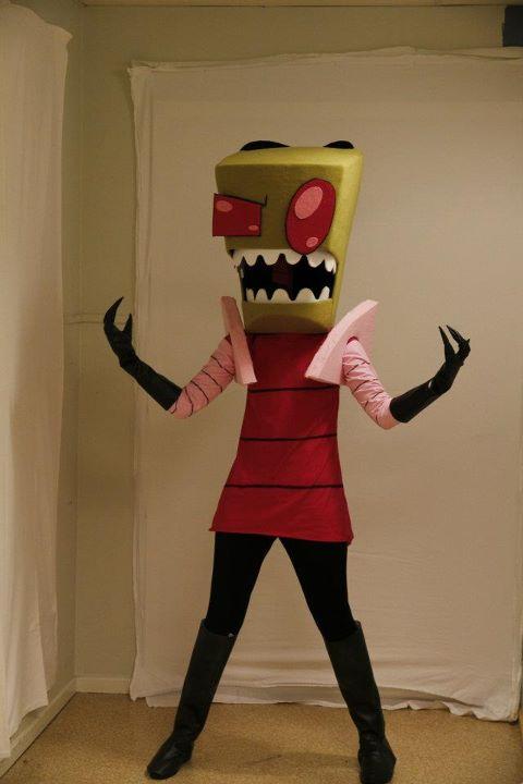 Invader Zim costume by sedra60