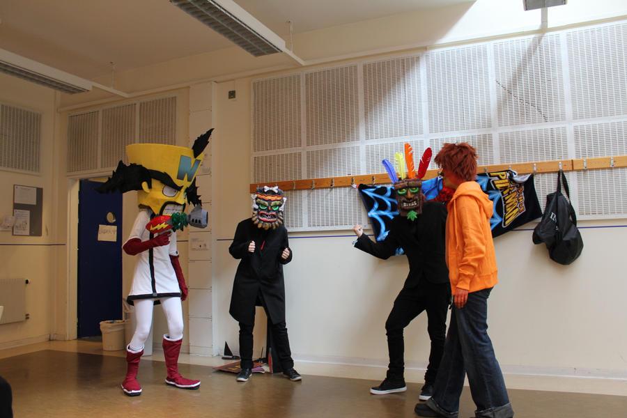 Crash Bandicoot group by sedra60