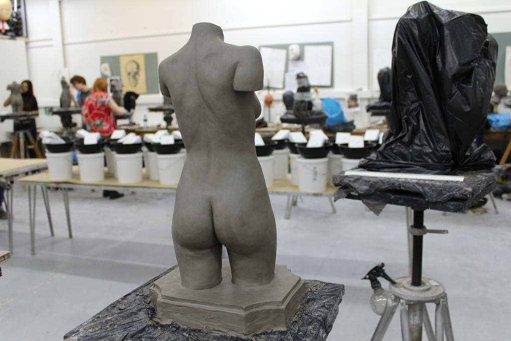 Sculpture - backside by sedra60