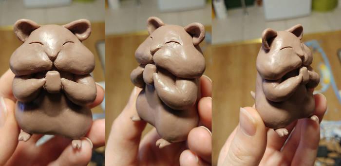 Hamster sculpt