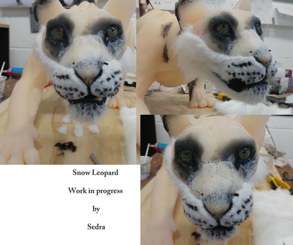 Snow leopard progress sneak peak! by sedra60