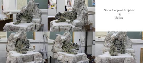 Snow Leopard Replica by sedra60