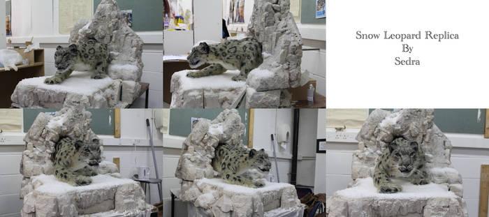 Snow Leopard Replica