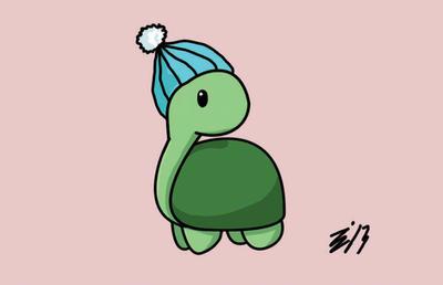 Mini turts Hat