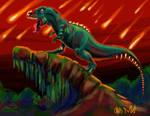 Tyrannosaurus Rex Zombie