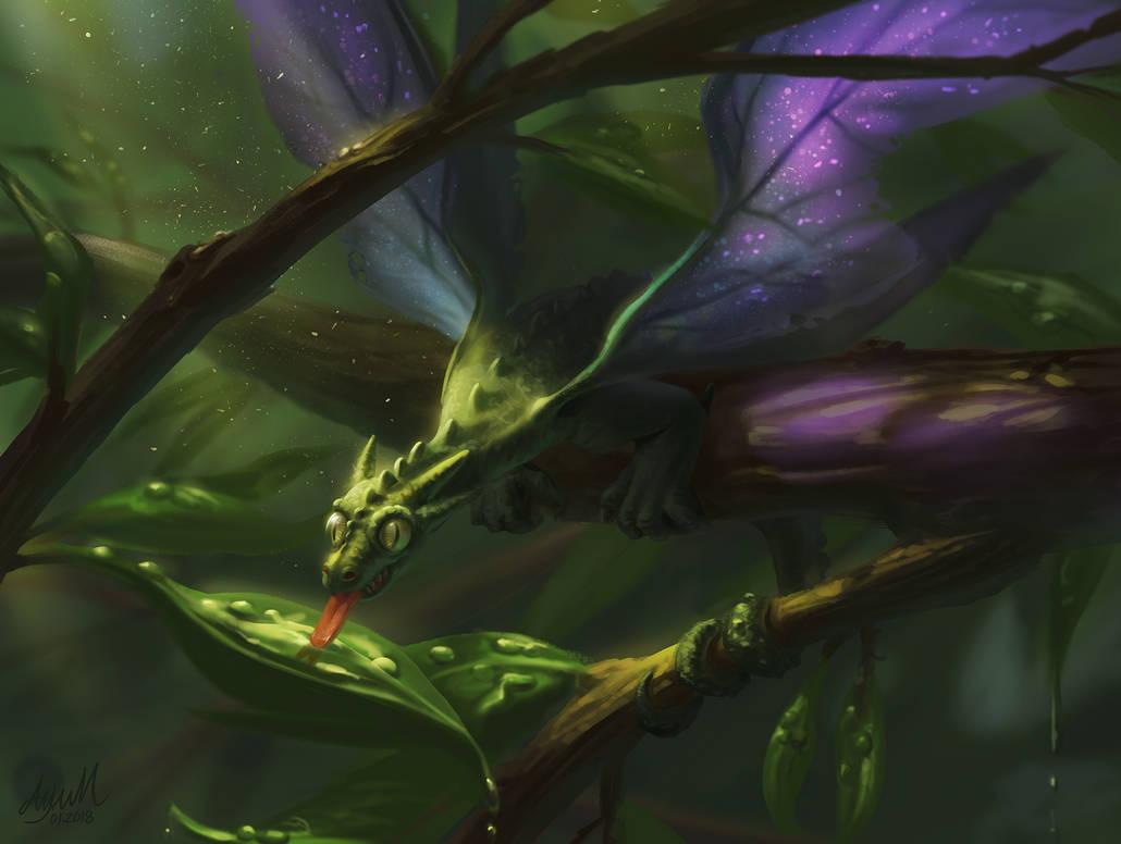 Fairy Dragon by ayuttt