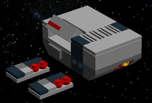 Lego NES.... In SPAAAAACE by Elberik