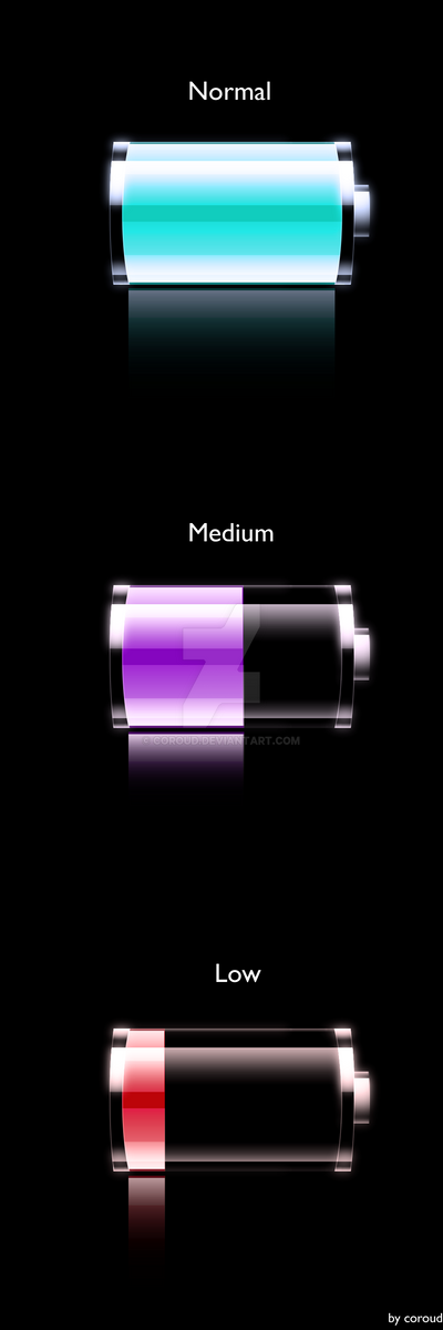 iPhone Battery v.2.1 by CorouD