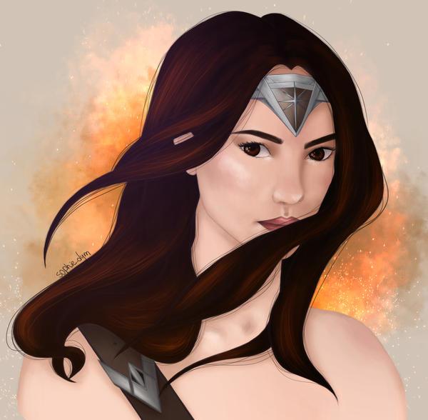 Wonderwoman by Sophia-Anna