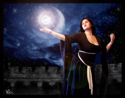 summoning of light by ladylionink