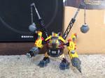 LEGO moc mining robot mech