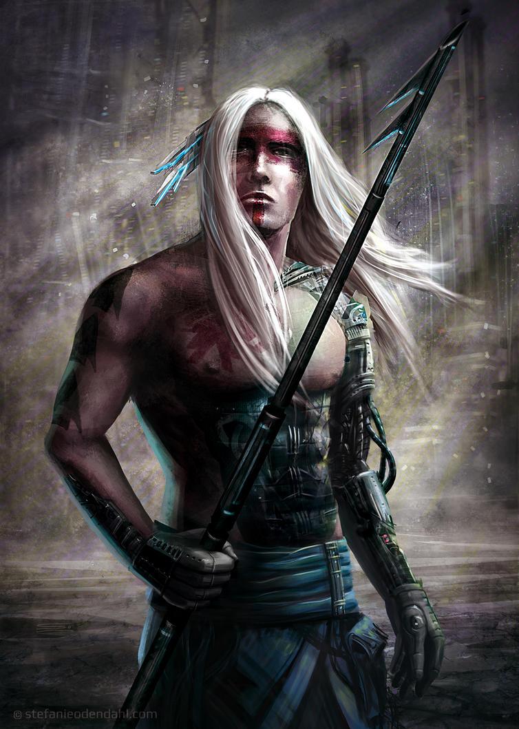 Cyber Warrior by StefanieOdendahl